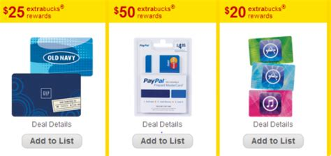Gift Card For Paypal - cvs 50 ecb for paypal gift card my frugal adventures