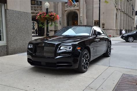 roll royce wraith 2017 rolls royce wraith black badge stock r399aa for