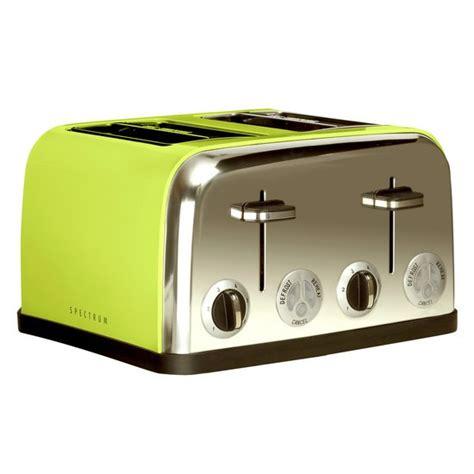 10 Green Accessories by Spectrum 4 Slice Toaster Green Kitchen Accessories