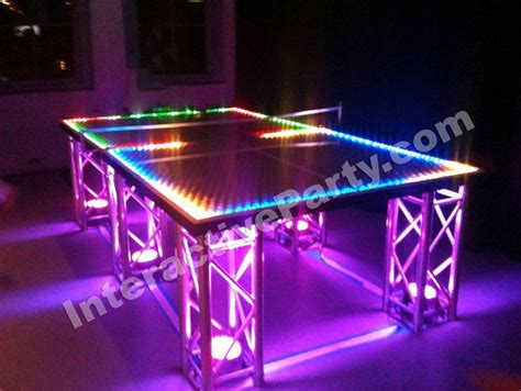 ideas for a glow in the or mitzvah led ping