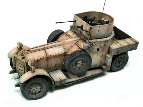 rolls royce armored car 1924 by hiro takeuchi