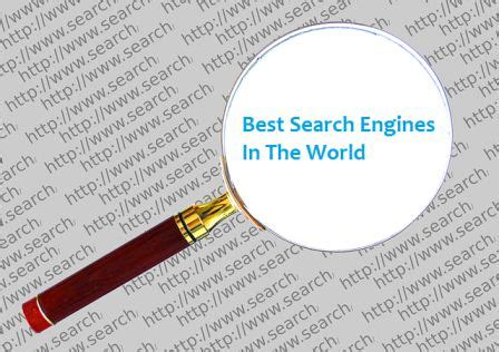 Search Engines For Top 10 Best Search Engines In The World Ecloudbuzz