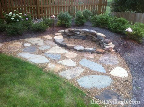 How To Build A Backyard Pit With Rocks by Building A Stacked Pit The Diy