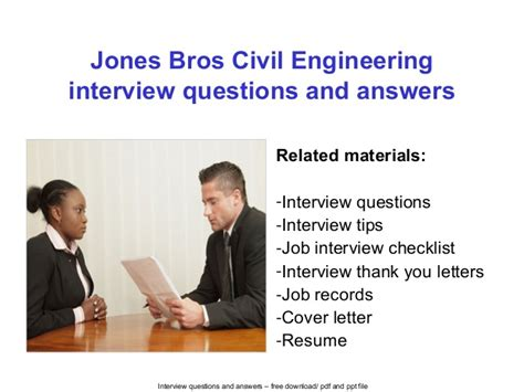 jones bros civil engineering questions and answers