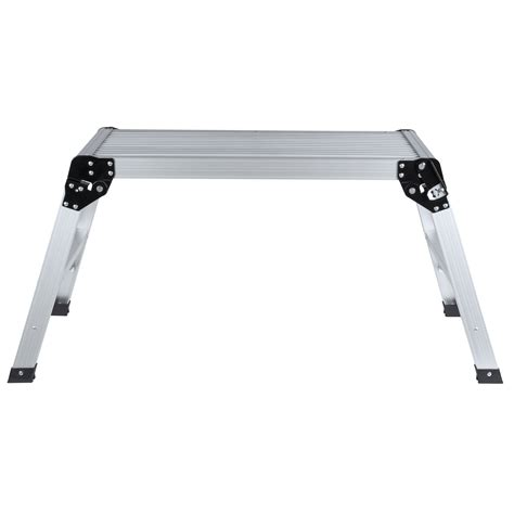 aluminum folding work bench aluminum platform drywall step up folding work bench stool