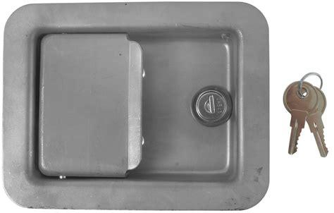 Trailer Door Latch by Size Locking Steel Flush Door Latch Redline Enclosed