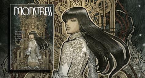 monstress volume 1 awakening monstress volume 1 awakening graphic novel banner