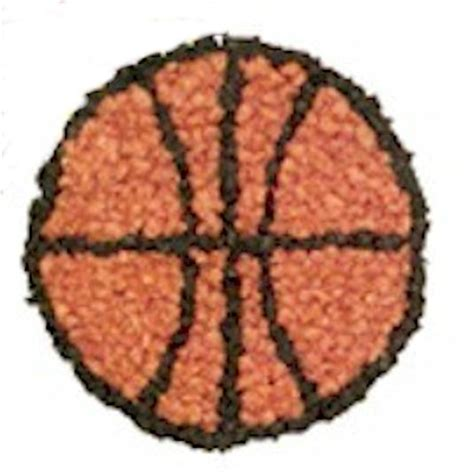 basketball crafts for tissue paper basketball craft