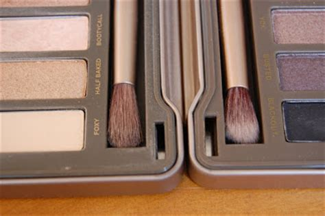 S Dapat Back Naked4 4 Eyeshadow Pallete looks from the back decay palette real vs