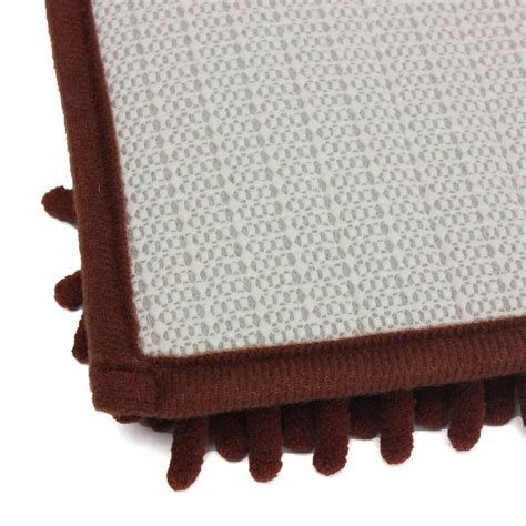 Brown Bathroom Rugs 1pcs Washable Bathroom New Shaggy Rugs Non Slip Bath Mat Thick Brown Ed Ebay
