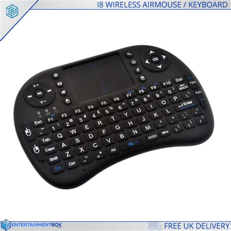 Keyboard Air i8 portable air mouse touchpad wireless keyboard