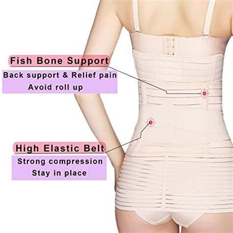 post c section support belt leewin postpartum belly wrap 3 in 1 post pregnancy band
