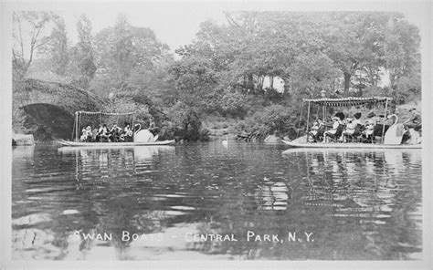 swan boats in central park 9 things you won t see in our parks today nyc parks