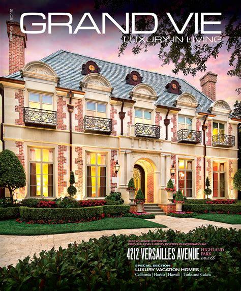grand vie magazine cover architecture interiors photoblog