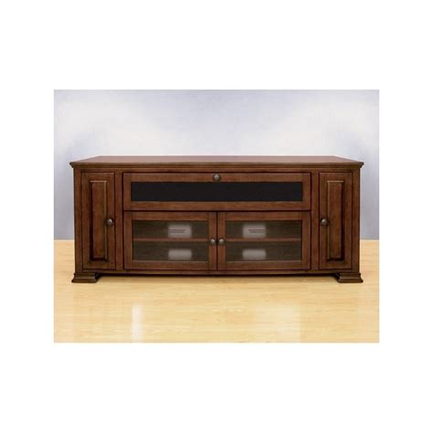 bello media cabinet with fireplace wood tv stand with media storage in espresso finish