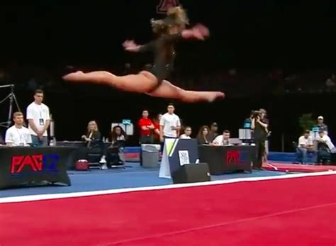 10 year gymnast floor routine ucla gymnast gets 10 with floor routine inspiremore