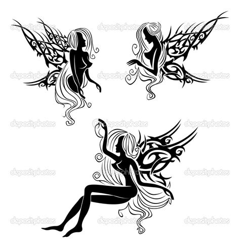 black fairy tattoo designs 31 tribal tattoos collection