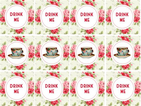 printable name tags for tea party 8 best images of tea party printables tea party free
