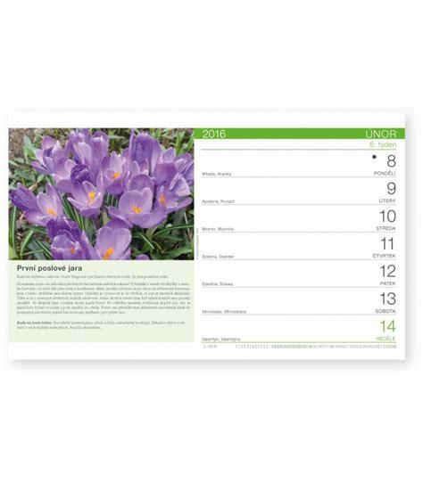 Table Calendar 2016 Table Calendar Zahr 225 Dk 225 ř 2016