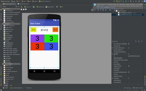 layout preview android studio not working android studio gridlayout not working properly on api