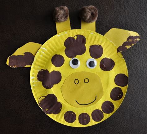 Giraffe Paper Plate Craft - 101 best images about jungle preschool on