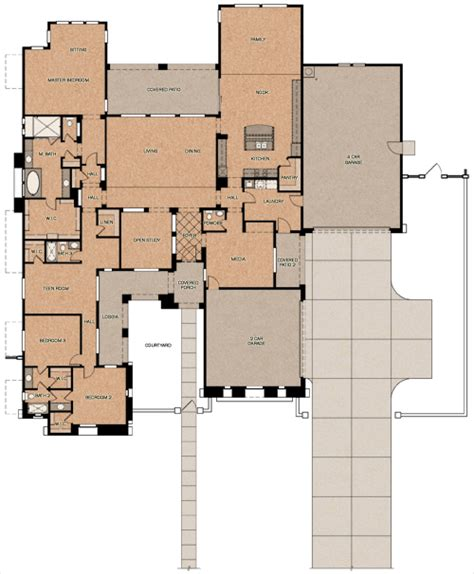 fulton homes floor plans the goldwater fulton homes