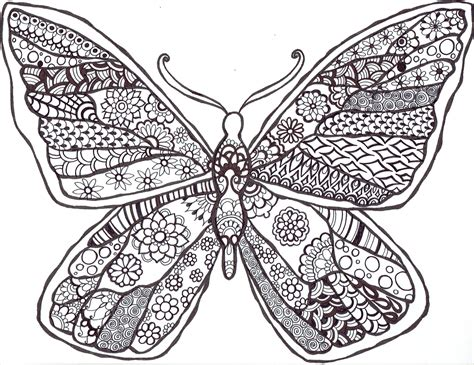 Mandala Butterfly ? You Color