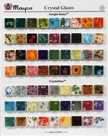 mayco colors mayco jungle gem chip board