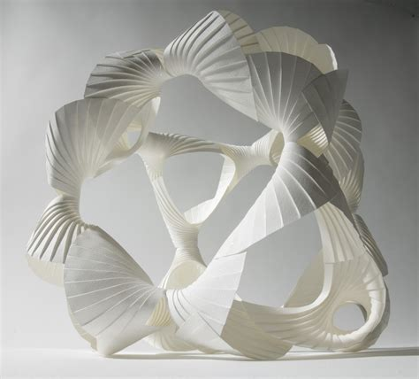 How To Make Paper Sculptures - intricate modular paper sculptures by richard sweeney