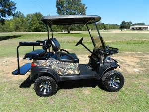 camo lifted golf carts viewing gallery