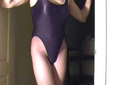 short shorts crossdresser youtube ml 114 cross dresser black leotard fun short version