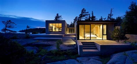 modern lake house hotel resort modern lake house plans luxury cottage home in canada this island cottage is