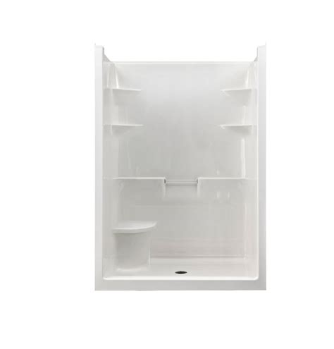 Acrylic Shower Units Mirolin 5 1 Acrylic Shower Stall With Seat