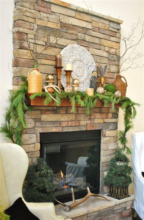 chimenea de decoracion motivos navide 241 os para decorar la chimenea 50 ideas