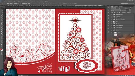 tutorial photoshop navidad tutorial photoshop tarjeta de felicitacion navidade 241 a