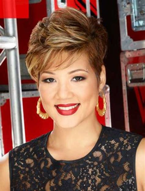 tessanne chin new hairstyle short haircuts for thick hair the best short hairstyles