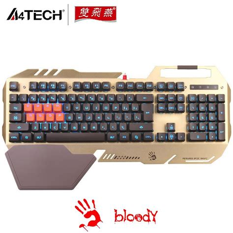 Promo Keyboard Gaming Bloody B640 Tas a4tech bloody b418 waterproof backlit mechanical feeling optical gaming keyboards for dota lol