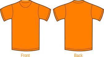 got orange t shirt clipart best