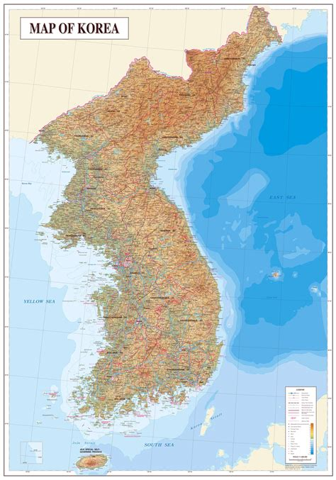 detailed map of maps of korea dprk detailed map of korea