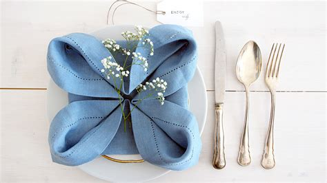 napkin origami flower napkin fold adds special touch to any table lakes
