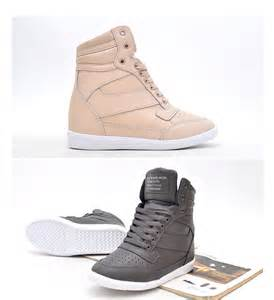 tennis shoe wedges womens high top wedge sneakers tennis shoes