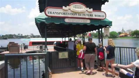 disney world boat walt disney world friendship boat captains epcot youtube