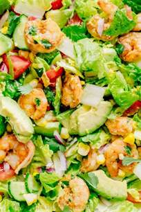 shrimp avocado salad recipe natashaskitchen com