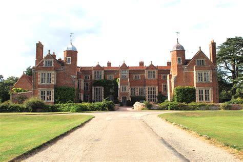 English Tudor Houses kentwell hall in suffolk