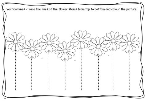 printable tracing vertical lines free worksheets 187 trace lines worksheet free math