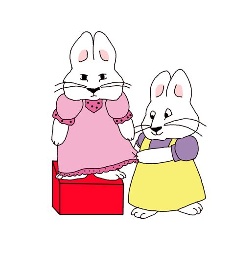 max and ruby painting max helping ruby by guilmonking on deviantart