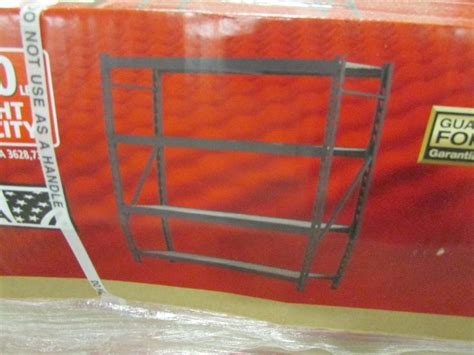 Husky 5 Shelf Heavy Duty Storage Unit by Residential And Commercial Wiring Books For Sale Classifieds