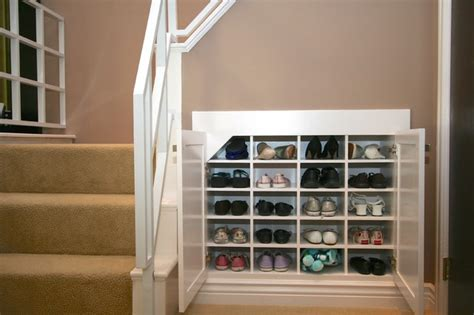 shoe storage solutions robeson design shoe storage solutions using space below a