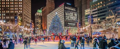 detroit christmas tree lighting takes place friday nov