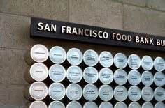 San Francisco Food Pantry by Donor Recognition San Francisco Food Bank Donor Wall